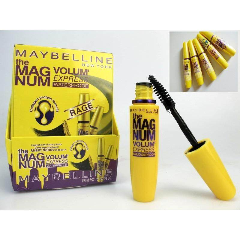 Maybelline Mascara Volum' Express Magnum Waterproof Mascara [Black]