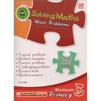 Pelangi Solving Maths Word Problems Workbook Primary 3