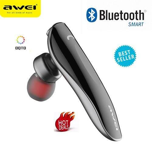 ของแท้ มีของแถม หูฟัง Bluetooth HBQ i7 หูฟัง บลูทูธ Wireless Music Bluetooth Earphone V4.1 headphone stereo single Bluetooth earphone for Smart Phone หูฟังอันเดียวใส่ข้างซ้าย ถูกที่สุด