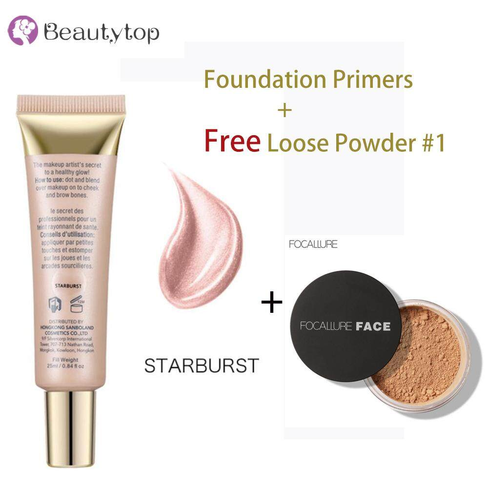 【Buy One Free One】1Pc Foundation Primer Base Highlighter Cosmetic Brightening Makeup Face High