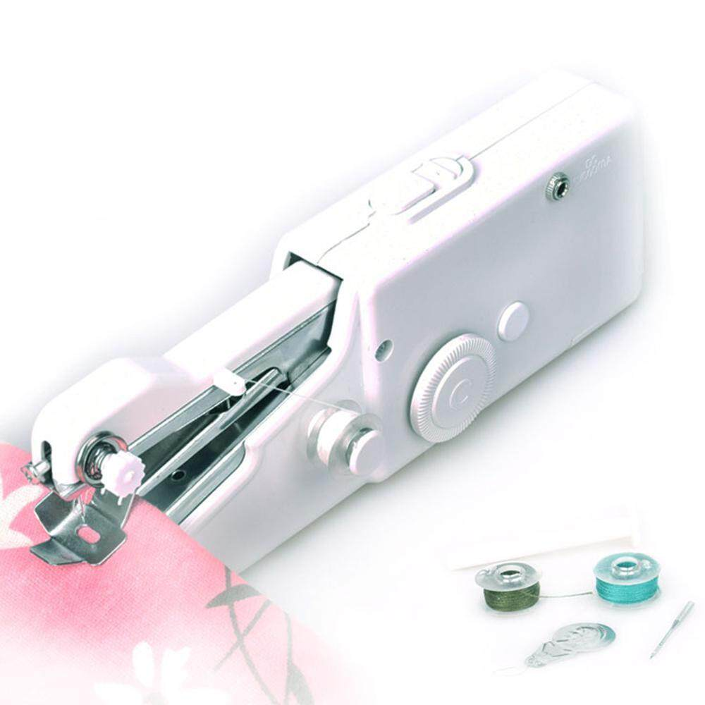 Portable Sewing Machine Mini Cordless Handheld Electric Household Stitch Cloth For Travel Fabric Kids Perfect Home For Use Tool Clothing