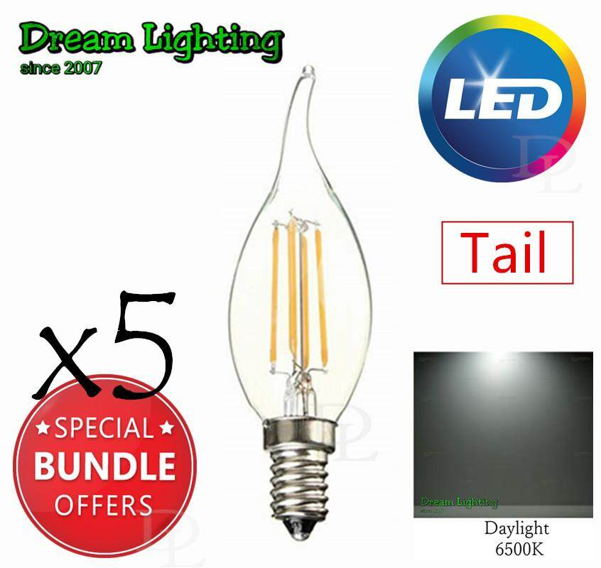 E14 LED COB 4W Candle light Bulb Energy Saving