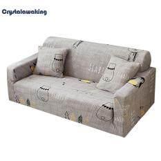 Elastic Sofa Wrap All-inclusive Sofa Cover 1/2/3/4-seater+2pcs Pillowcase