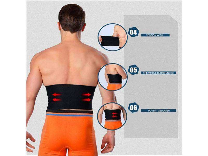 New Waist Weight Loss Trimmer Fat Burner Adjustable Slimming Belt Women Men By Better Me.