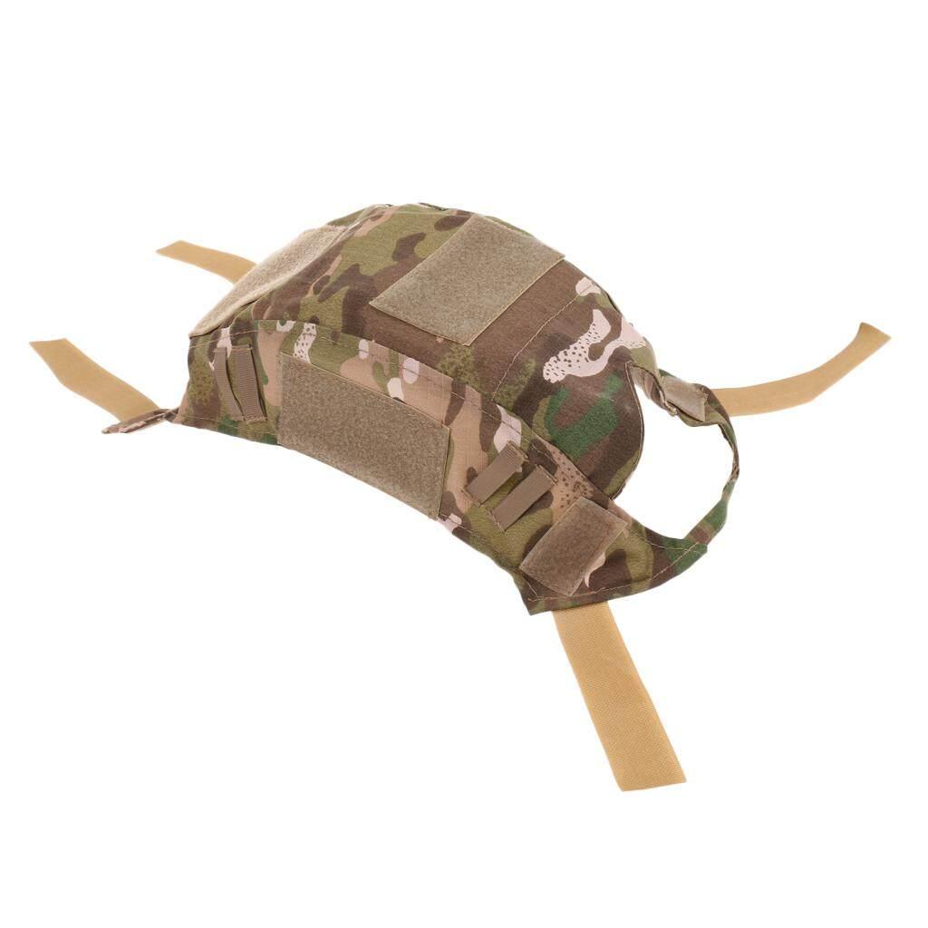 Magideal Berburu Militer Taktis Camo Penutup Helm Peralatan Outdoor CP (C0- 04-CP