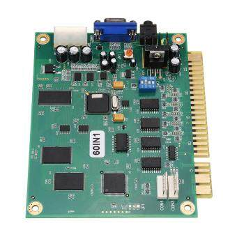Classic 60 In 1 Vertical Multi Arcade Game JAMMA Board CGA / VGA Output MAME