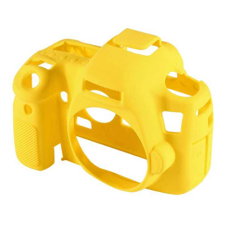 ETOUCH PULUZ Camera Case Lightweight Silicone Gel Body Cover Housing for Canon EOS 6D