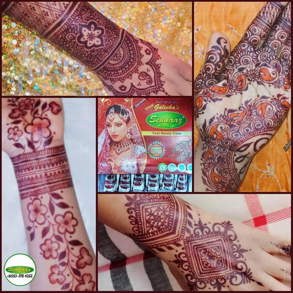 Golecha Henna Cone Warna Warni 12 Pcs Daftar Update Harga Terbaru Rani Kone Body Decoration Paste Rk 99 K Box Rm1099 Cherry Cones 1 12pcs
