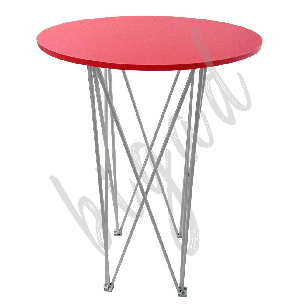Fold-able Luxury High Cocktail Round Table
