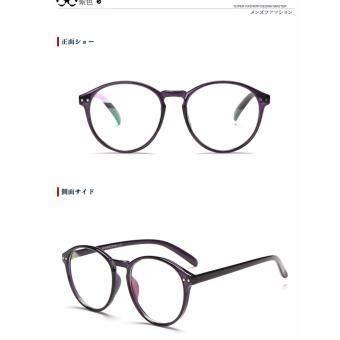 Classic fashion men women eyeglasses 8801W purple frame
