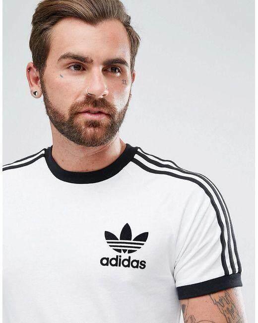 2c8e7835 adidas Originals California T-Shirt In White AZ8128 | Lazada
