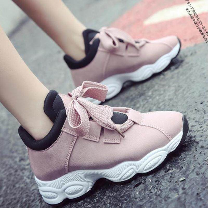 131c35370 New Casual Fashion Sneakers for Women Breathable Running Sports Women's  Shoes (Pink)