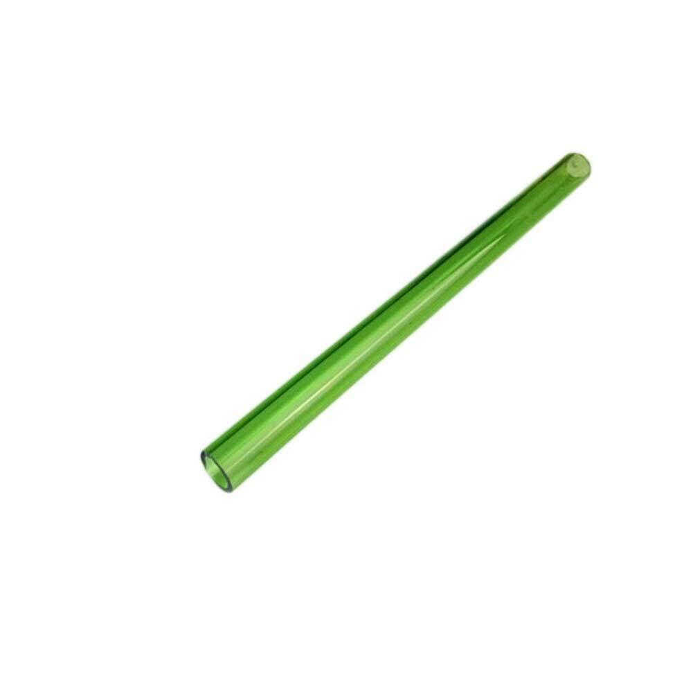 Kuhong 5 Pcs Halus Khusus Pipet Gelas Kaca Lengkung Lingkungan Pipet Kesehatan Sedotan Minuman-Intl