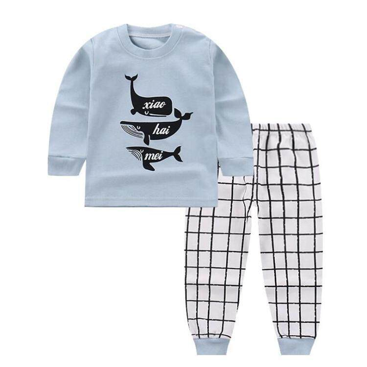 076b4f4817725 Baby Boys Clothes 2018 Spring Autumn Cartoon Leisure Long Sleeved T-shirts  + Pants Newborn Baby Girl Clothes Kids Suits