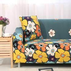 Mùa Xuân Hoa In Thun Co Giãn Bọc Bộ Full-Bọc đa năng Chống trơn trượt Vải Ghế Sofa khăn
