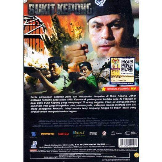 Bukit Kepong Malay Movie Dvd Buy Sell Online Horror With Cheap Price Lazada