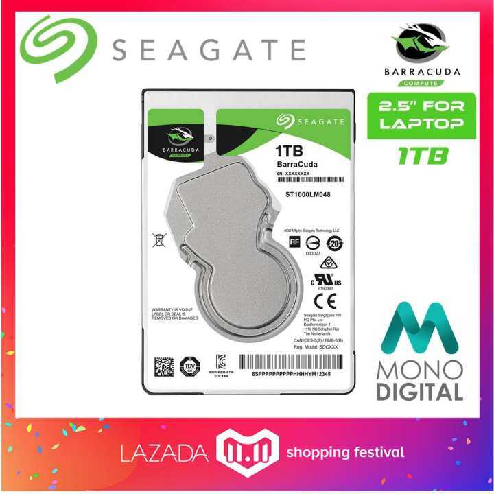 Seagate 1TB Barracuda 25 Notebook Internal Hard Disk