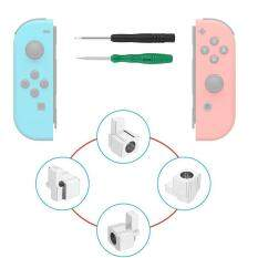 SOBUY Metal Lock Buckles Repair Tool Kit With Screwdrivers,Joy-Con Replacement Parts For Nintendo Switch NS Joy Con – intl