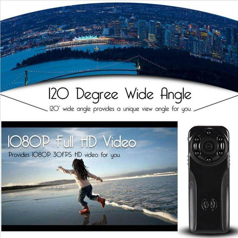 BELLE Mini 1080P Night Vision CamBELLE S80 HD 120 Degree Wide Angle Digital CamBELLE - intl