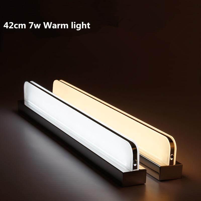 Mirror Light Waterproof Anti-fogging Bathroom Mirror Lamp Wall Lamp Nordic Simple Modern Mirror Cabinet Lights Led Lights