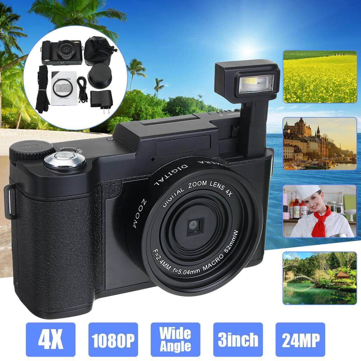 G36 Digital Camera Full HD 1080P Professional Video Camcorder Vlogging Camera - intl