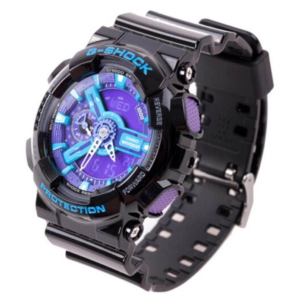 การใช้งาน  ลำพูน 【 STOCK】Original _ Casio_G-Shock นาฬิกาข้อมือผู้ชายผู้หญิงนาฬิกากีฬาอิเล็กทรอนิกส์ GA110