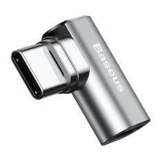 Baseus Mini USB-C Type-C Fast Charging Magnetic Elbow Adapter Converter – intl