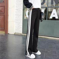 High Waist Pants Black Women Pants Long Pants Casual Sport Pant S-4XL – intl