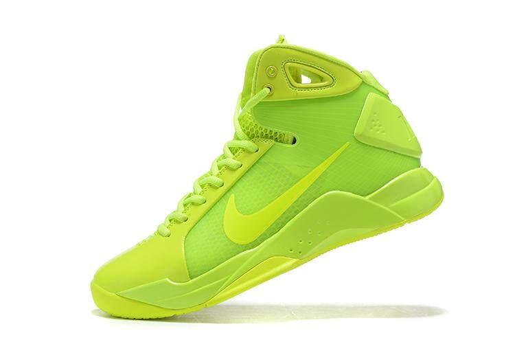 นครศรีธรรมราช Nike Kobe Hyperdunk 08 ผู้ชายรองเท้าบาสเก็ตบอล (สีเขียว)