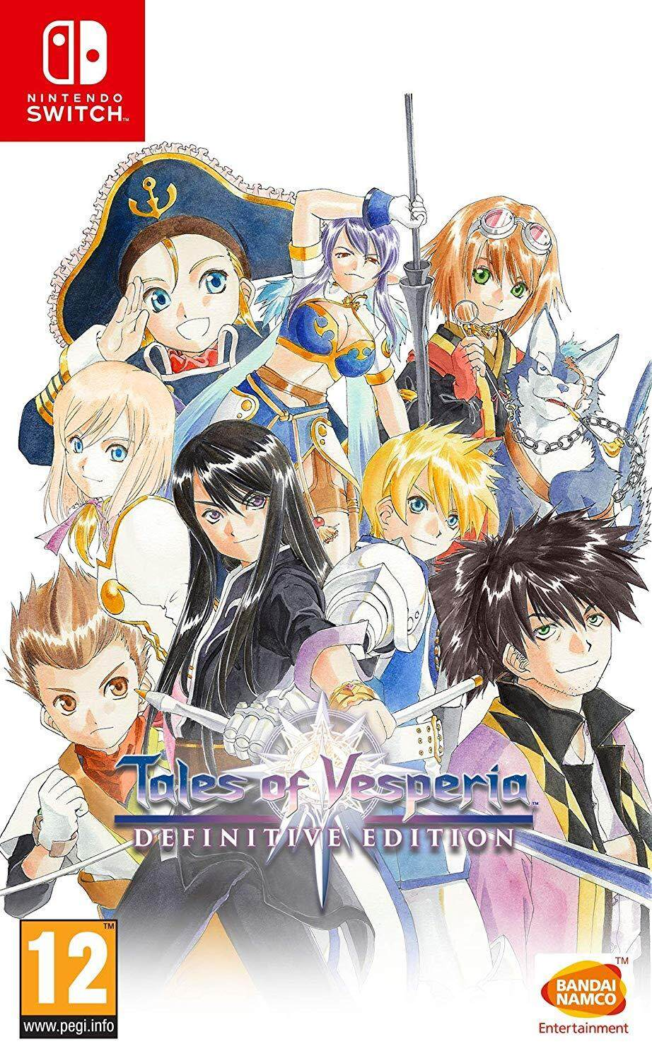 SWITCH TALES OF VESPERIA ENG VER