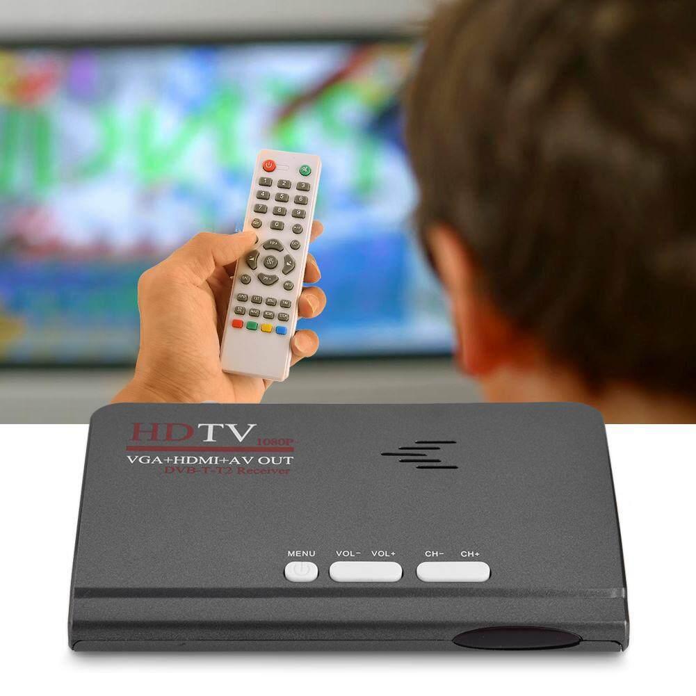 Nên mua Digital 1080P HD HDMI DVB-T2 TV Box Tuner Receiver Converter Remote Control With VGA Port US – intl ở Sweatbuy