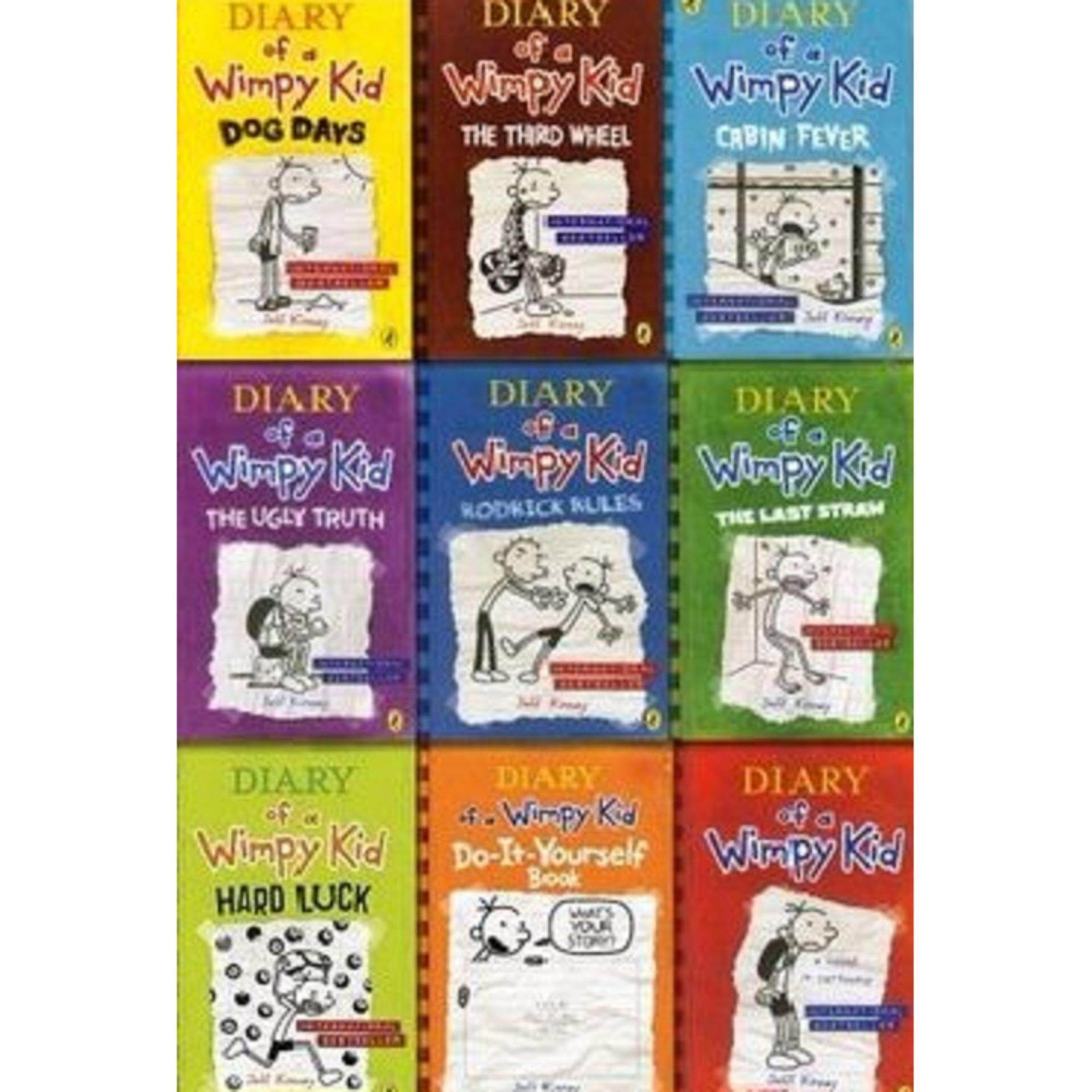 Diary of a wimpy kid 10 book slipcase paperback 2015 lazada diary of a wimpy kid 9 copy box set isbn 9780141365053 author by kinney jeff solutioingenieria Image collections