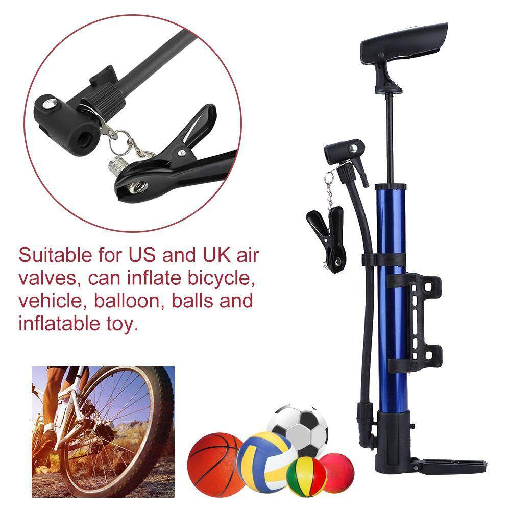Portable Hand Sports Mini Bicycle Cycling Bike Air Pump Tyre Tire Inflator Ball