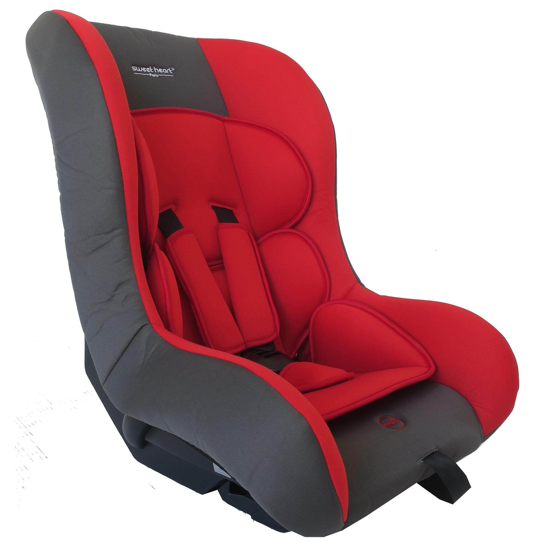 sweet heart paris cs256 safety car seat new red with washable covers lazada. Black Bedroom Furniture Sets. Home Design Ideas