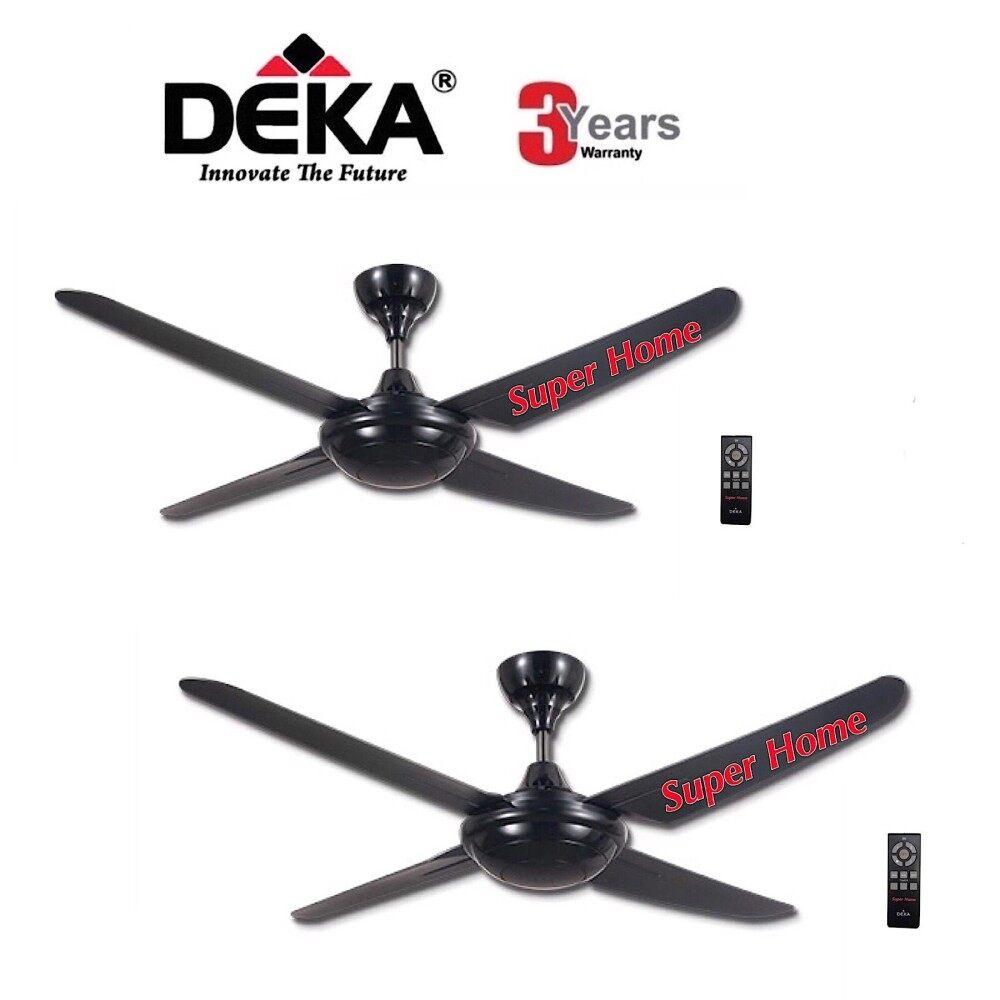 Kronos Deka F5 4P Ceiling Fan With Remote Control 4 Blade 56