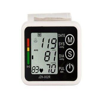 Yushong Health Care Germany Chip Automatic Wrist Digital BloodPressureMonitor Tonometer Meter for Measuring And Pulse Rate(Black)