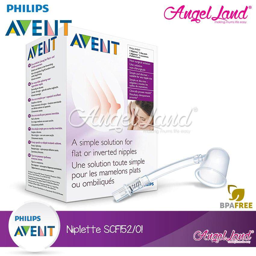 Philips Avent Nipplette Single Pack Only Feeding Baby
