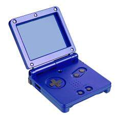 Full Housing Shell Case Cover Kit Replacement Part Set For Game Boy Advance SP # Blue
