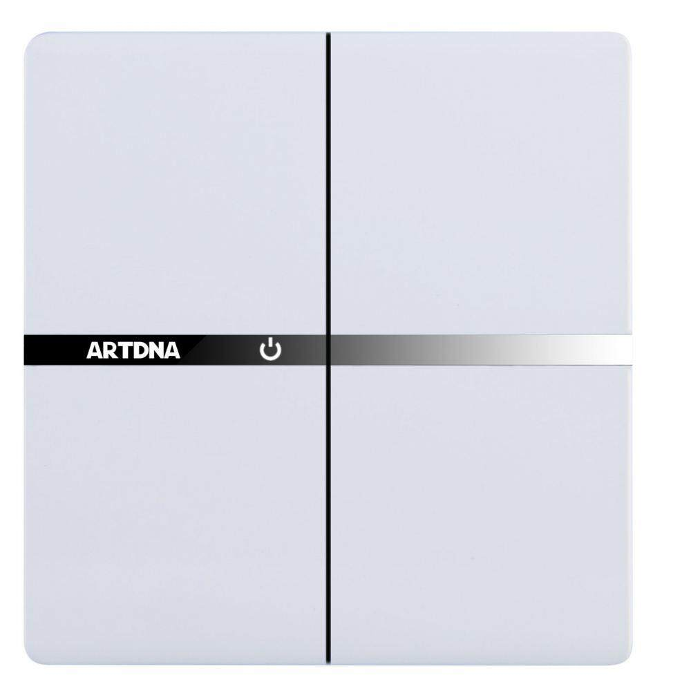 Ht Lighting Two Way Switch With Indicator Rm4240art Dna A38 10ax 2 Gang C W Led