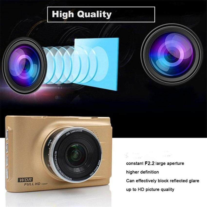 3'' HD 1080P Car Auto Dashboard DVR Video Camera Recorder Dash Cam Night Vision