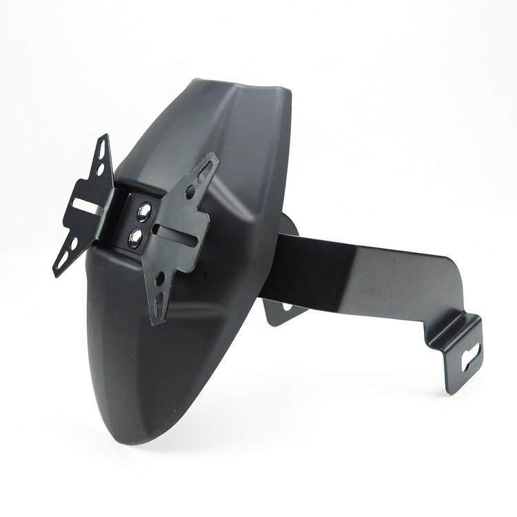 PL CNC Aluminum Motorcycle Rear Splash Guard Bracket Motorbike Mudguard  Case for HONDA GROM MSX125 M3 Color:black