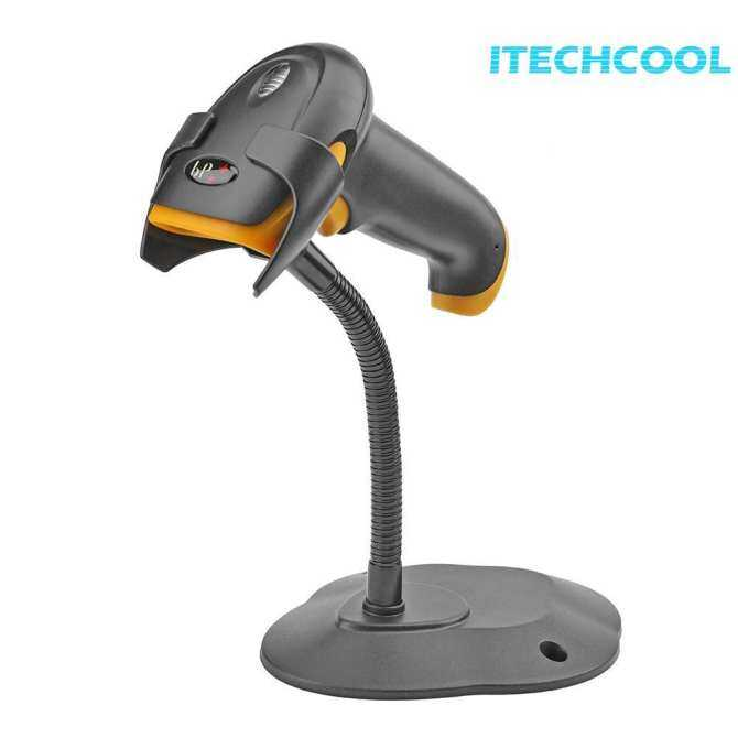 (Free shipping)Portable Auto Induction Barcode Scanner Wired 1D Bar Code Reader Scanning