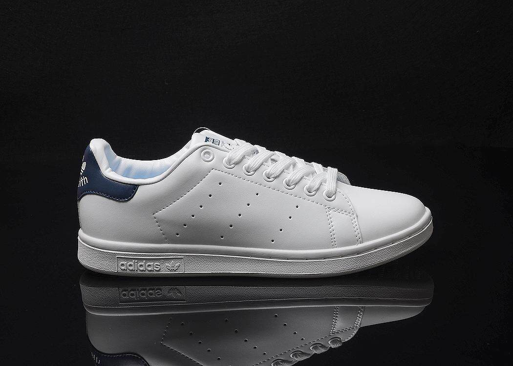 Adidas Originals Stan Smith Men s Casual Lightweight Running Shoe Fashion  Sports Sneakers (White Blue 85719c6d11