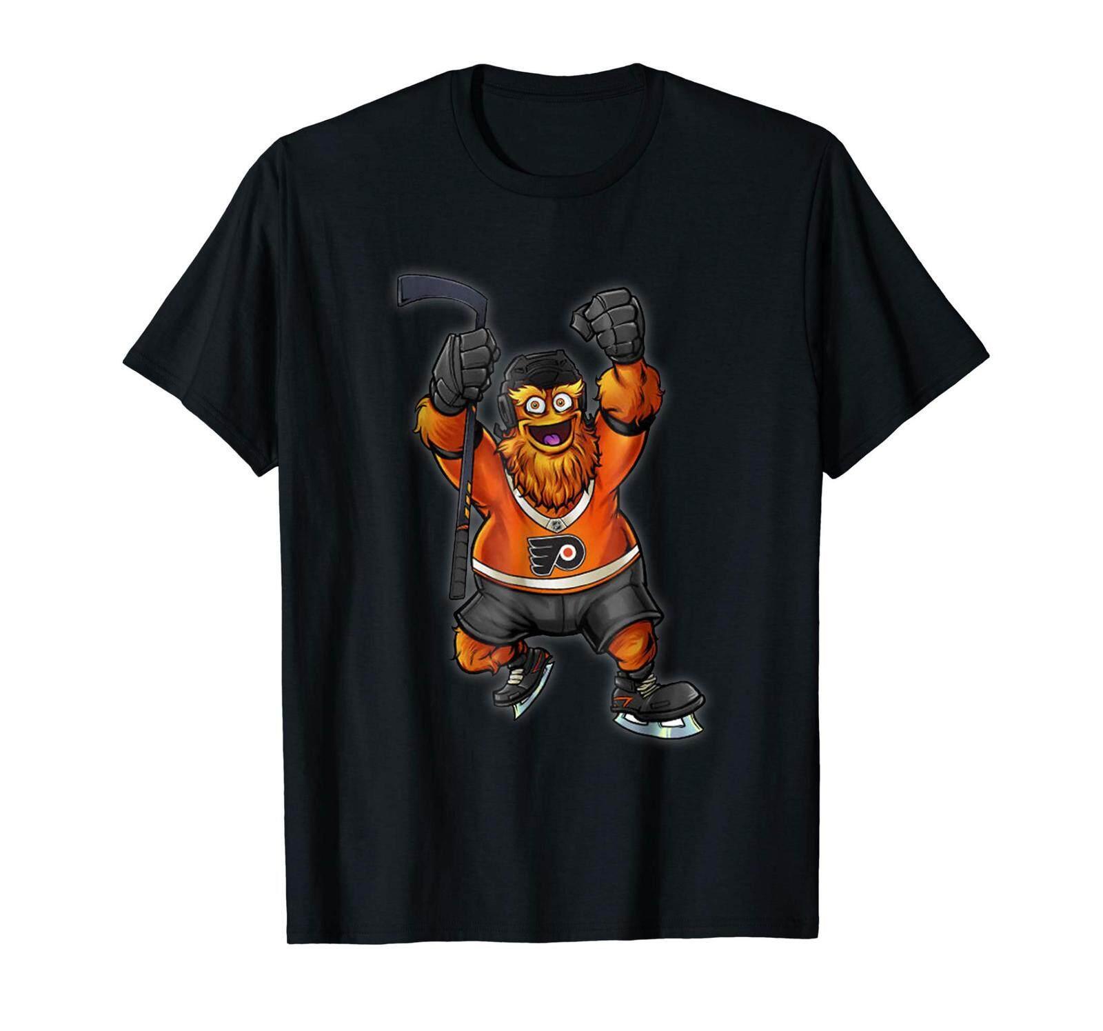 576db3d8883 Keep It Gritty Shirt Philadelphia Hockey Mascot Cotton Men T-Shirt Black