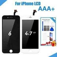 Dành cho iPhone 6 6 S Màn Hình LCD Hiển Thị Màn Hình Cảm Ứng LCD Hội Thuật Số Màn hình LCD Thay Thế + dụng cụ + Tặng kính cường lực