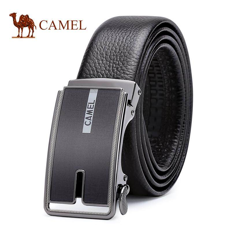 Camel Men's 100% Genuine Cow Leather Belt with Automatic Buckle - intl
