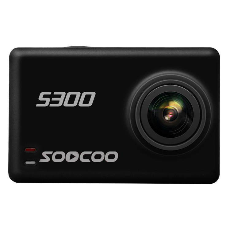 "Laurance SOOCOO S300 Action Camera Image Stabilization Sport Cam 4K 30FPS 2.35"" Touchscreen Hi3559V100 IMX377 Wifi External Mic GPS - intl"