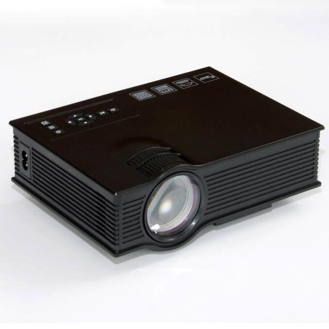 Bessky UC40 + Pro LED Rạp Hát Tại Nhà Điện Ảnh Trò Chơi Máy Chiếu 1080 P HDMI VGA USB Chơi Đa Năng