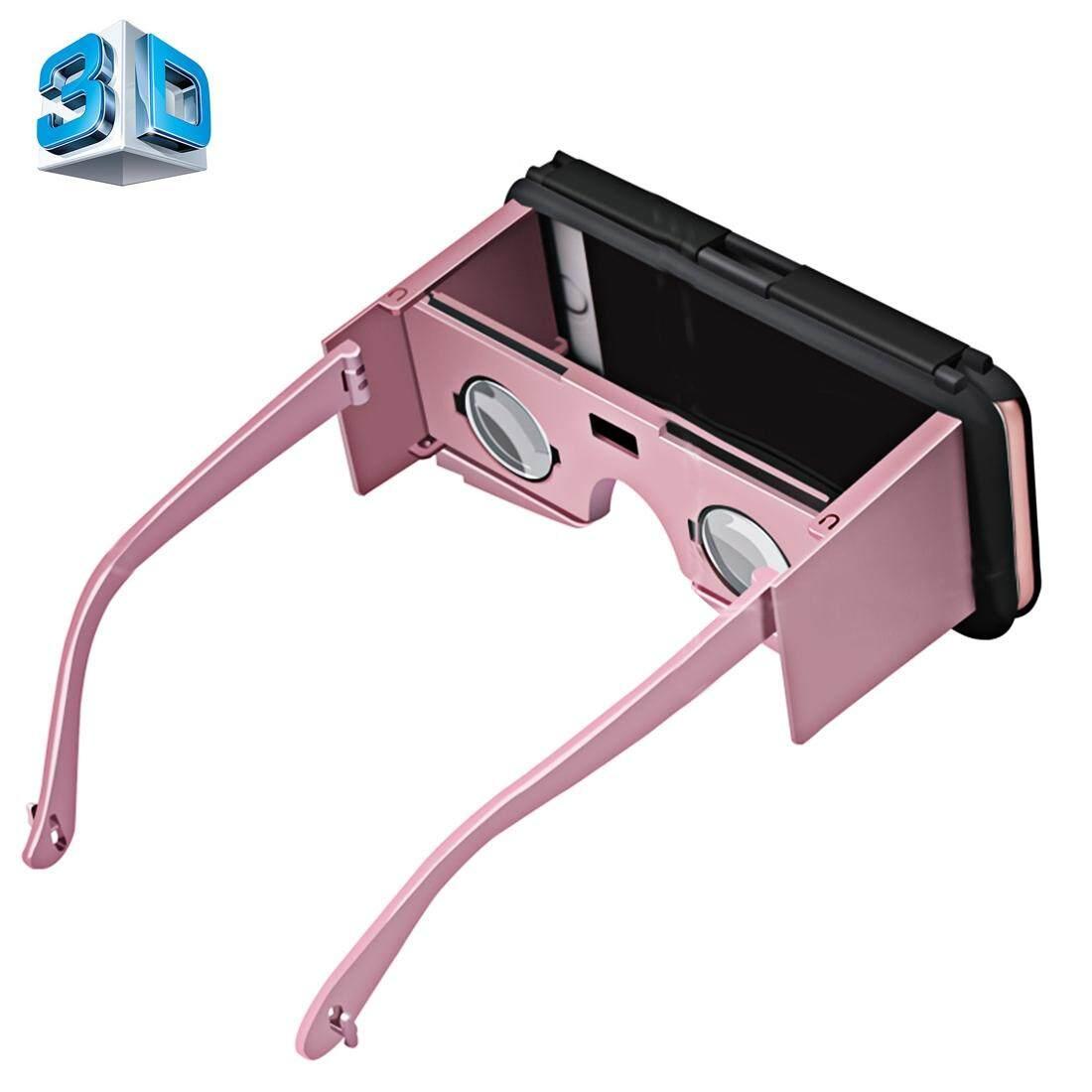 Vr Ốp Lưng 2 Kính Thực Tế Ảo 3D Video Kính Bảo Vệ Chức Năng Cho Iphone 6 Plus Và 6 S Plus