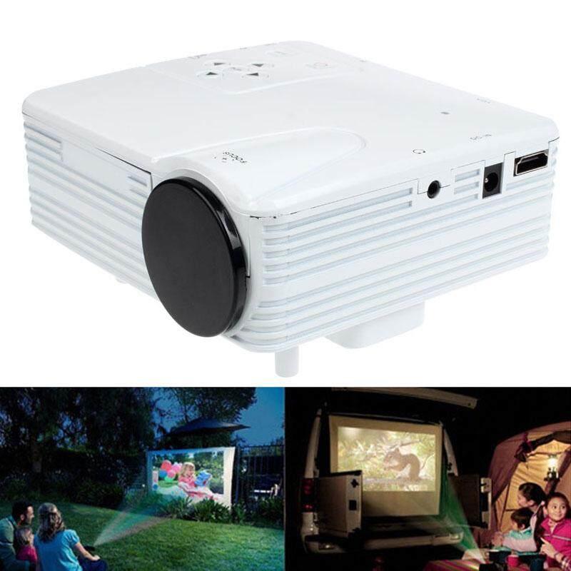 JY HD 1080 P Nhà Điện Ảnh Sân Khấu LED Máy Chiếu LCD PC AV TV VGA USB HDMI